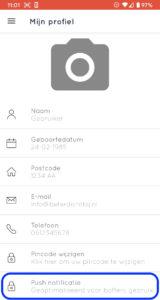 BeterDichtbij app meldingen